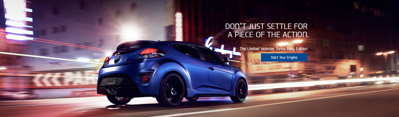 Ontario Hyundai - Don't Just Settle For A Piece of the Action