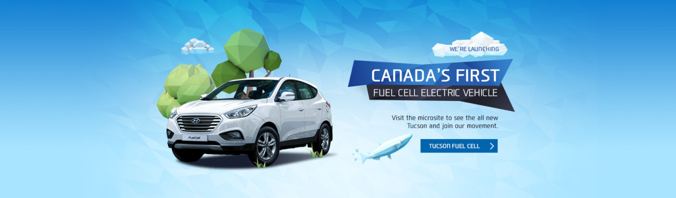 Ontario Hyundai -  Canada's First Fuel Cell Electric Vehicle