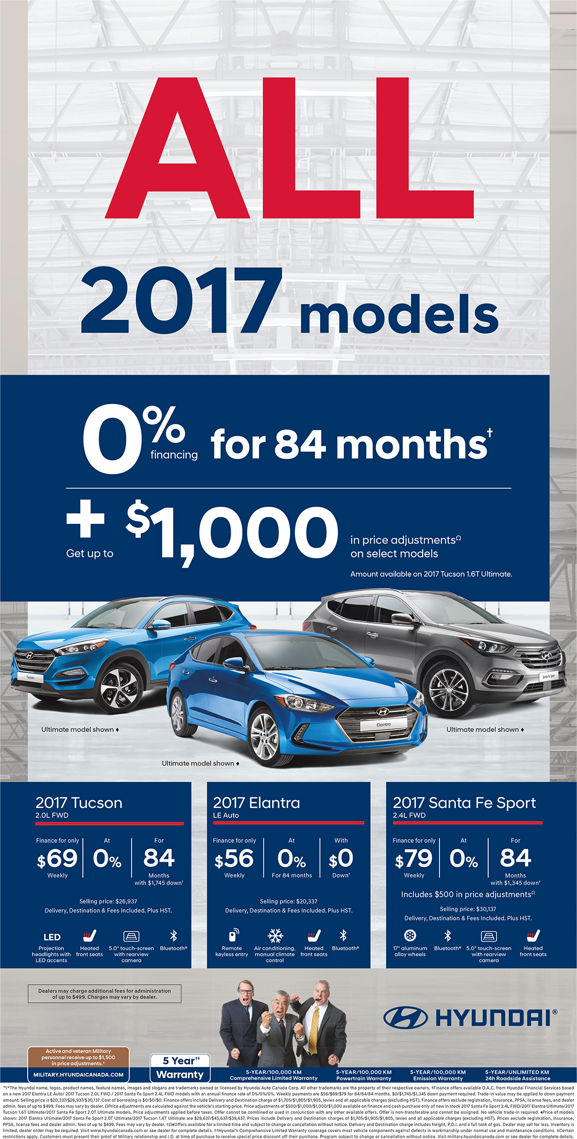 2017 Models Clearout