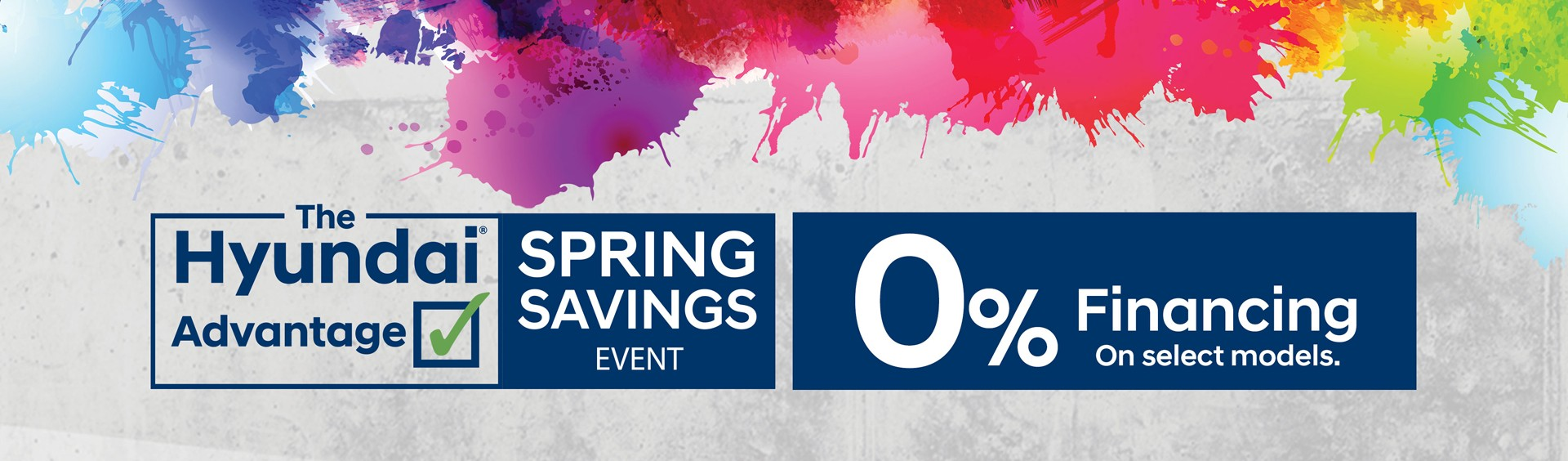 Spring Saving Event