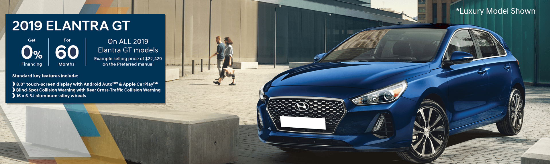 Lease The 2019 Elantra GT